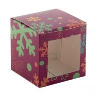 Boîte à fenêtre cube 75mm