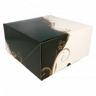 Boîte à gâteau carrée