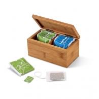 Caja de té. Bambú