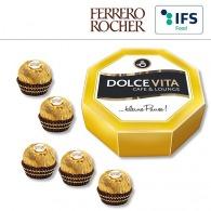 Boîte cadeau octogonale avec Ferrero Rocher