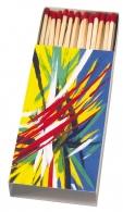 Boîte d'allumettes avec logo
