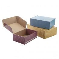 Boîte personnalisée d'envoi en carton 20x15x7cm