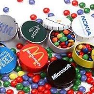 Boîtes de bonbons clic-clac promotionnel