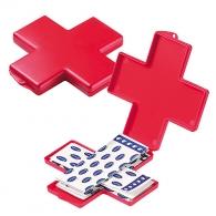 Boîte de pansements personnalisables Croix
