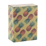 Boîte personnalisée en papier 100x100x110mm