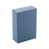 Boîte personnalisable en papier 123x170x58mm