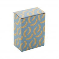 Boîte logotée en papier 45x100x75mm