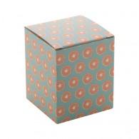 Boîte logotée en papier 88x105x88mm