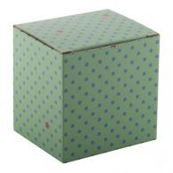 Boîte logotée en papier 88x108x102mm