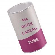 Boîte tube personnalisable 8x10cm