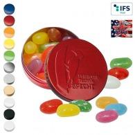 Boîte XS avec couvercle estampé avec American Jelly Beans