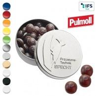 Boîte XS avec couvercle estampé avec pastilles Pulmoll Original