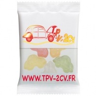 Sachet de bonbons personnalisable haribo 20g