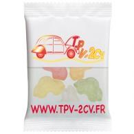 Sachets de bonbons Haribo avec logo