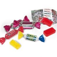 Bonbon en papillote publicitaire