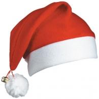 Bonnets de père-noël avec logo