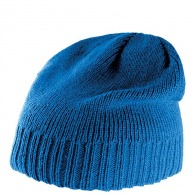 Bonnet personnalisable tricot bordure côtelée