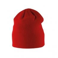 Bonnet enfant logoté tricoté