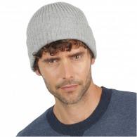 Bonnet personnalisé tricot style marin