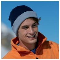 Bonnet publicitaire tricot 2 couleurs