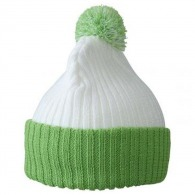 Bonnet publicitaire tricot à pompon