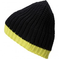 Bonnet personnalisable tricot bicolore