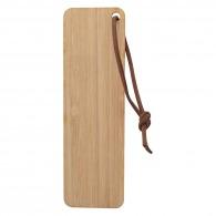 Marque-page publicitaire en bambou