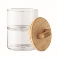 2 cajas de cristal apilables