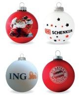 Boules de Noël avec personnalisation