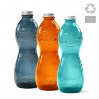 Bouteille en verre recyclé