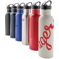 Metal sports bottle