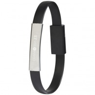 Bracelet câble de chargement personnalisé 2 en 1