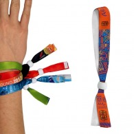 Bracelet inviolable personnalisable en satin - sublimation 1 face