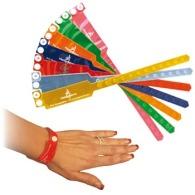 Bracelet inviolable publicitaire