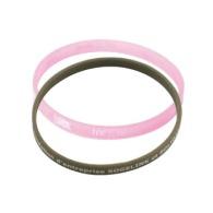 Bracelet silicone personnalisé fin