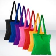 Sacs shopping écologiques avec marquage