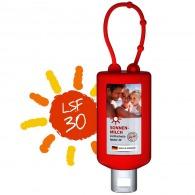 Bumper 50ml de crème solaire personnalisée