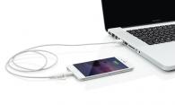 Câble 2 en 1 avec connecteur Apple Lightning certifié MFi