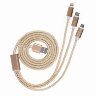 Câble usb 3 en 1 de 125cm
