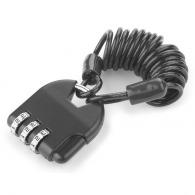 Cadenas personnalisables à chiffres avec câble
