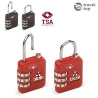 Cadenas à combinaison personnalisable TSA