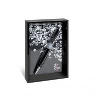 Cadre photo publicitaire avec stylo clic clac-bekasi black