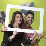 Accessoires à selfie et photobooth personnalisable