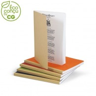 Cahier de notes recyclé