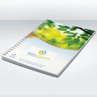 Cahier recyclé personnalisable A4