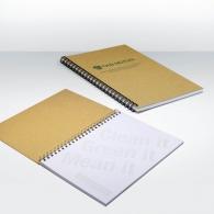 Cahier personnalisé recyclé A5