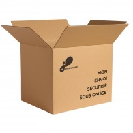 Caisse carton 50x40x40cm