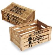 Caja de madera ligera m