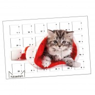 Advent calendar A5 horizontal