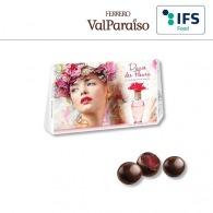 Calendrier de l'Avent personnalisé aux perles de chocolat